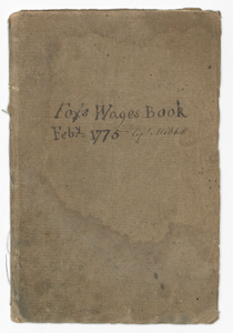 Wage book for the slave trading ship Fox captained by Robert Mitchell
