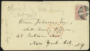 Letter to] Dear Johnson [manuscript