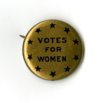 Woman Suffrage Button