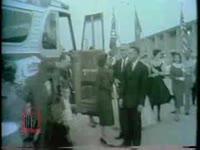 WSB-TV newsfilm clip of segregated facilities at Jekyll Island, Georgia, 1958