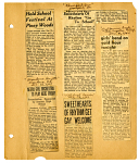 [Articles from various newspapers: clippings]