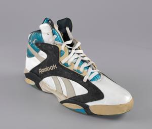 Shaq Attaq sneaker worn by Shaq