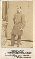 Portrait of Colonel Wistar