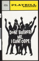 Program for Don't Bother Me, I Can't Cope, Edison Theatre, 1973
