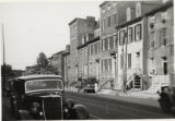 South side of the 200 block of West Biddle Street, Baltimore