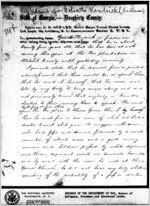 Affidavit of Goliath Kendrick: Albany, Georgia, 1868 Sept. 23