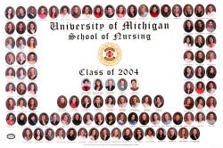 School of Nursing Class of 2004