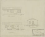 Paving Plant, One-Story Summer House, Elevations