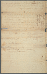 Documents pertaining to a court case of Moses Night (plaintiff) versus Peter Bainbridge (defendent), 1794-1795
