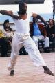 Man dancing on a cruise ship