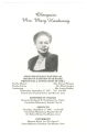 "Mary Hardaway and Elizabeth ""Alta"" Herndon funeral programs, 1980s"