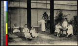 Brothers and sisters playing, Shanghai, China, ca.1920-1940