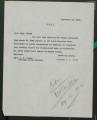 Correspondence: A. L. Smith, 1925-1926.
