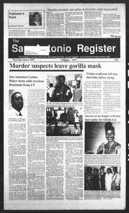 San Antonio Register (San Antonio, Tex.), Vol. 61, No. 5, Ed. 1 Thursday, June 4, 1992 San Antonio Register