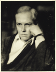 A new and hitherto unpublished photograph of Carl Van Vechten, author of 'Nigger Heaven' (Knopf). Please credit photographer E.O. Hoppe
