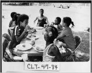 [Photograph of Starr family reunion, Jonesboro, Clayton County, Georgia, ca. 1979]