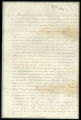 Sharecropping contract between Campbell Brown for the owners of Melrose Plantation, and Frederick Lewis for himself and his squad of freedmen
