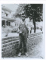 Ben Williams, Negro WPA bricklayer, Galesburg, Ill