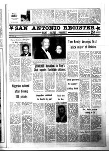 San Antonio Register (San Antonio, Tex.), Vol. 50, No. 30, Ed. 1 Thursday, November 5, 1981 San Antonio Register