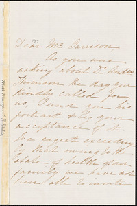 Letter from Margaret B. Ritchie, [Edinburgh, Scotland], to William Lloyd Garrison, 1867 July 18th