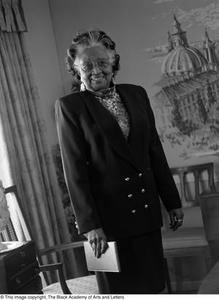 [Travis Lewis posing for portrait] Dallas/Fort Worth Black Living Legends Dallas/Fort Worth Black Living Legends, 1993