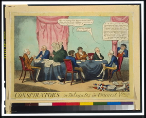 Conspirators; or, delegates in council