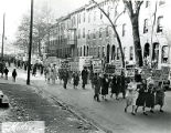 Protest against Philadelphia Transportation Company