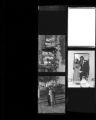 Set of negatives by Clinton Wright of Mrs. Johnetta Johnson's wedding, 1965