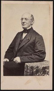 [William Lloyd Garrison, abolitionist, journalist, and editor of The Liberator]
