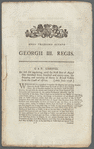 An act for regulating, until the first day of August 1799, the shipping and carrying of slaves in British vessels from the coast of Africa