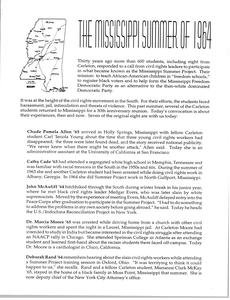 Mississippi Summer of 1964