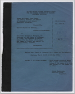 Testimony from Hosea Williams, John Lewis, and Amelia Boynton et al. v. Honorable George C. Wallace, Governor of Alabama et al