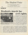 SAVF-Student Nonviolent Coordinating Committee (SNCC) (Social Action vertical file, circa 1930-2002; Archives Main Stacks, Mss 577, Box 48, Folder 13)