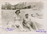 25. Rosie and Merle McCurdy at the Idlewild Club House in Idlewild, Michigan