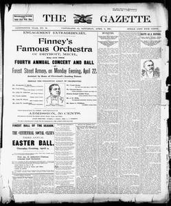 The Gazette. (Cleveland, Ohio), Vol. EIGHTEENTH YEAR, No. 35, Ed. 1 Saturday, April 6, 1901 The Gazette