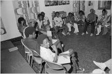 Meeting at Emmaus House