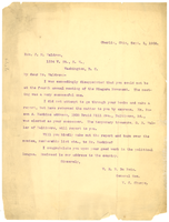 Letter from W. E. B. Du Bois to J. M. Waldron
