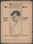 """Mammie's Pickaninny Boy"" Sheet Music"