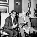 Atlanta Community Relations Commission event at City Hall, 1968