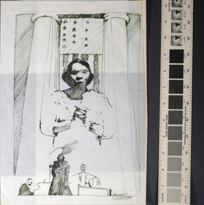 [Sketch of the Marian Anderson, two of three]