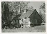 Northampton slave quarters (wooden), near Largo, Prince George's County, Maryland, circa 1936