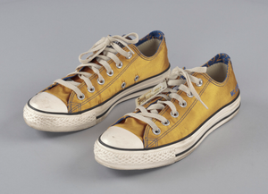 Customized Sigma Gamma Rho Converse sneakers for member MC Lyte