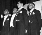 Fisk Jubilee Singers' Male Quartet performs at Peabody College, 1948 July 26