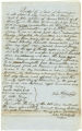 Deed of manumission by John Whalen for Negro slave named Samuel Dorsey