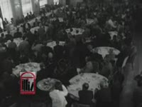 WSB-TV newsfilm clip of Dr. Martin Luther King, Jr. affirming the principles of the civil rights movement as well as of nonviolence to the National Press Club in Washington, D.C., 1962 July 19