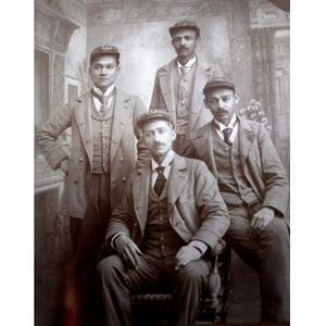 Four men in uniform
