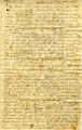 Hayes Letter 1843021001, Nehemiah West to William Hayes