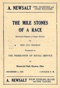 """Mile Stones"" of a Race Program"