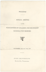 Association of Colleges and Secondary Schools