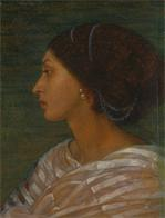 Head of a Mulatto Woman (Mrs. Eaton); Head of a mulatto woman